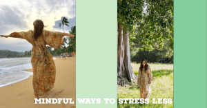 Mindful ways to stress less , Thrive Magazine Issue 6